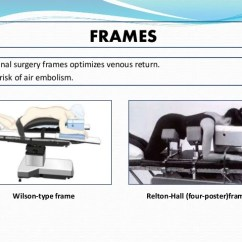 Best Chair After Spinal Surgery Revolving Pose Positioning In Neurosurgical Procedures