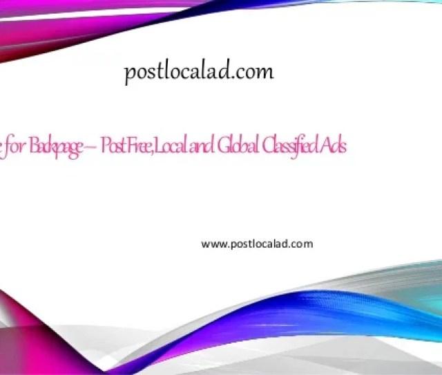 Alternativeforbackpage Postfreelocalandglobalclassifiedads Postlocalad Com Www Postlocalad Com Postfreeclassifiedads