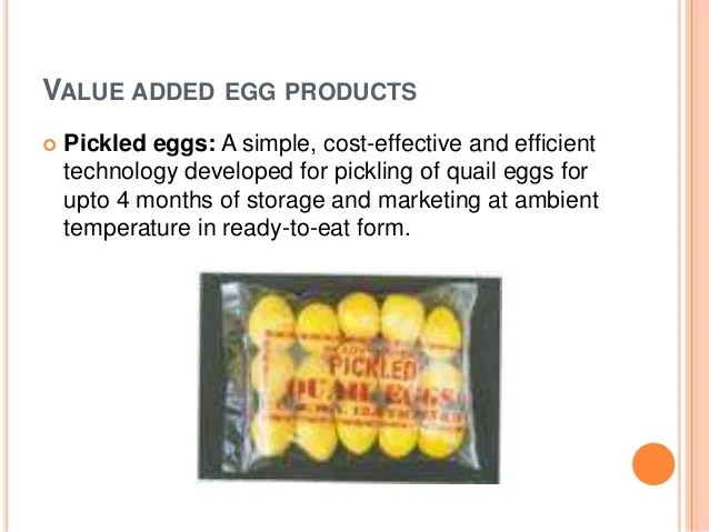 Value Added Poultry Products