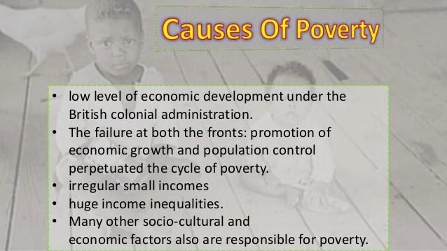 Poverty as a challenge GRADE 9 ECONOMICS