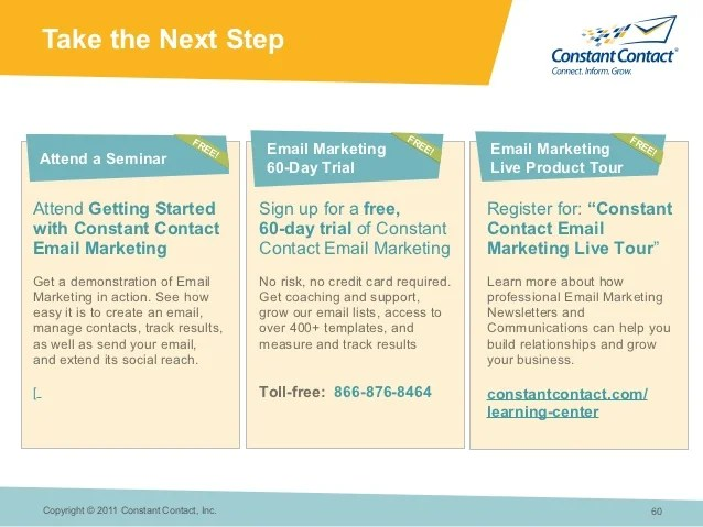 The Power Of E Mail Marketing Constant Contact At