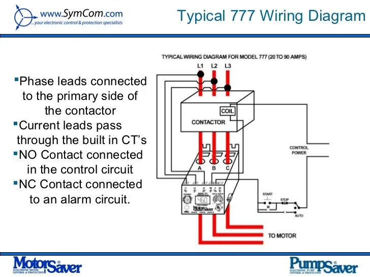 contactor and thermal overload relay wiring diagram series parallel speaker 37 images power point presentation for symcom 2012 21 728 allen bradley motor starter