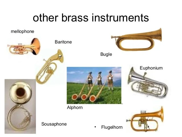 Pp 5 brass instruments