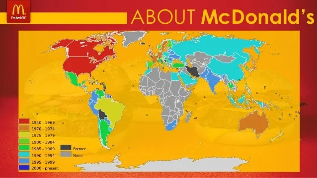 Map Every Mcdonalds World