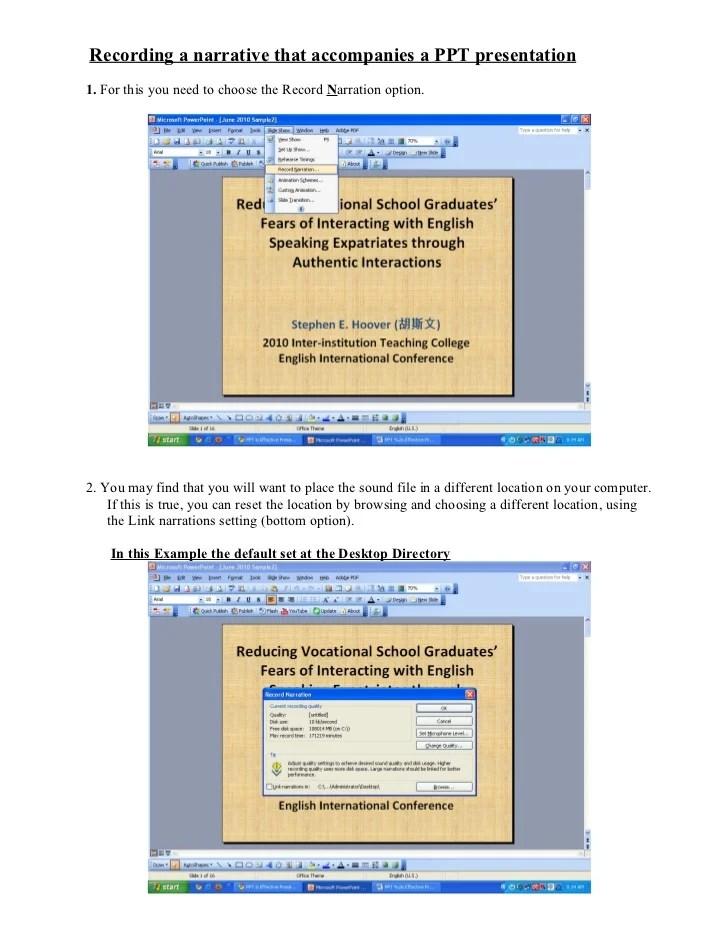 Narrative Text Ppt : narrative, Speech, Rehearsal:, Using, PowerPoint, Effective, Presentations