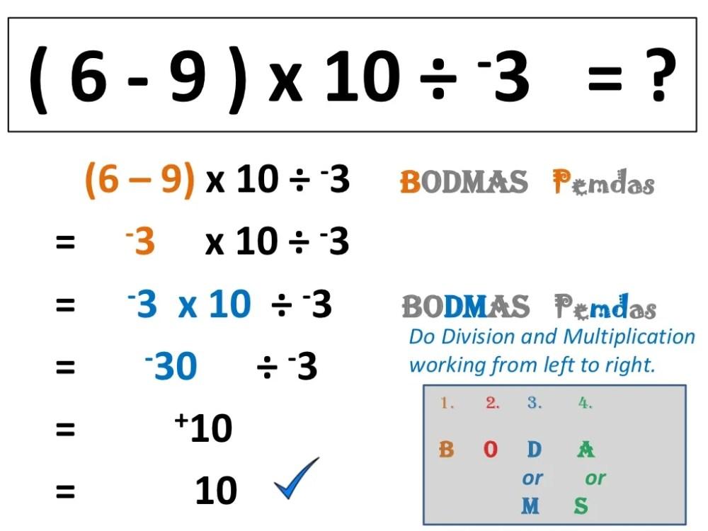 medium resolution of Pemdas Integers Worksheet   Printable Worksheets and Activities for  Teachers