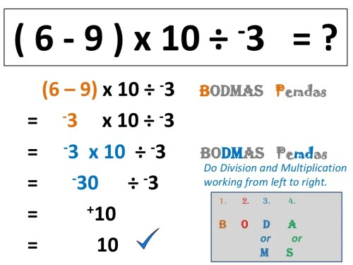 small resolution of Pemdas Integers Worksheet   Printable Worksheets and Activities for  Teachers