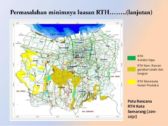 Review RTRW kota semarang