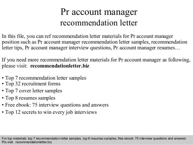 Letter Of Recommendation For Permanent Residency Sample