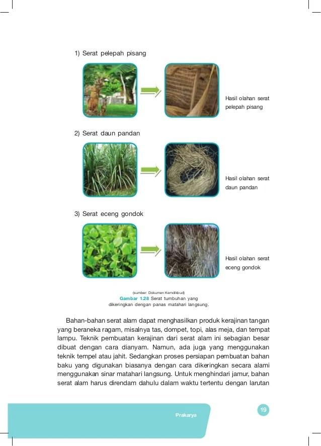 Sebutkan Alat Yang Diperlukan Untuk Membuat Kerajinan Dari Bahan Serat Tumbuhan : sebutkan, diperlukan, untuk, membuat, kerajinan, bahan, serat, tumbuhan, Prakarya, Semster, Revisi