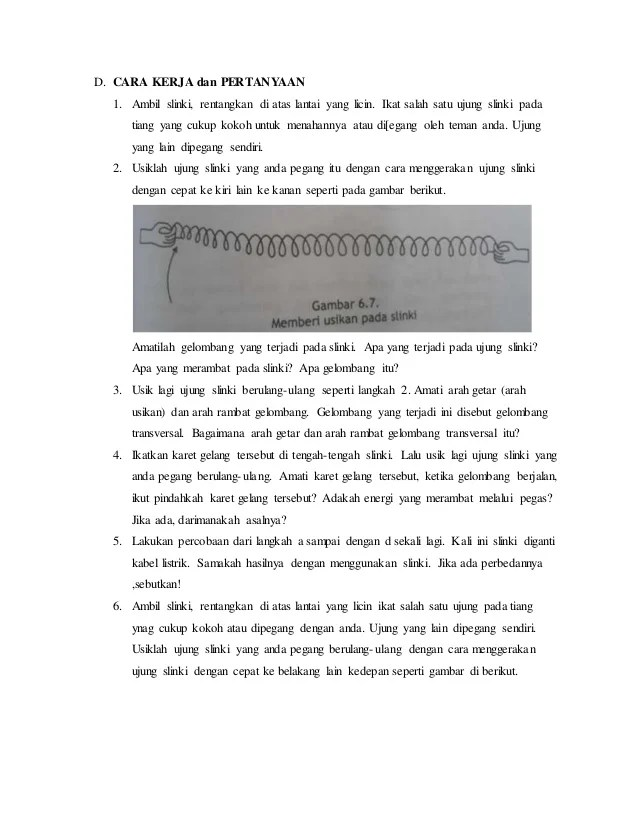 Gelombang Slinki : gelombang, slinki, Gelombang, Transversal, Longitudinal
