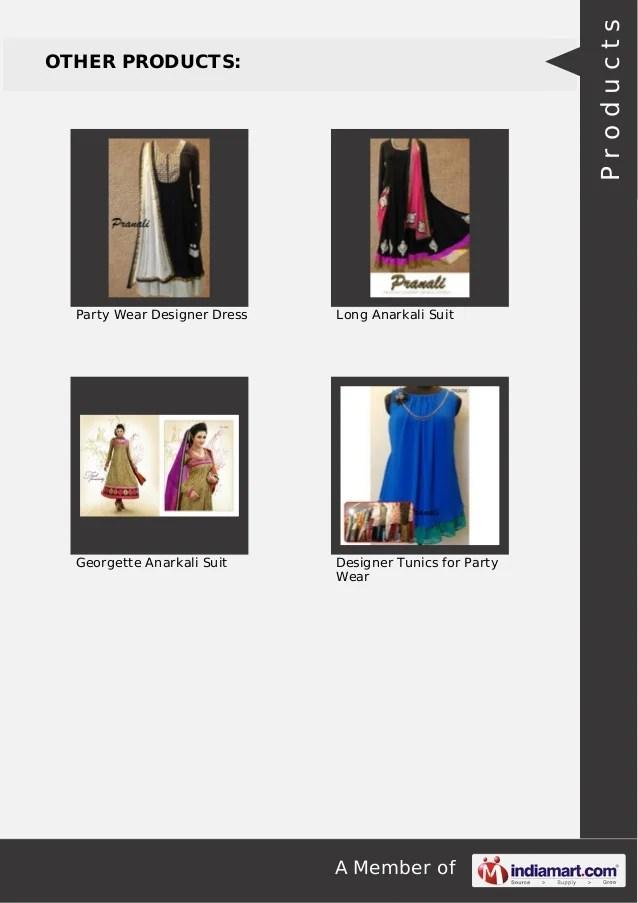 Pranali Fashion Design Studio. Surat. Designer Tunics