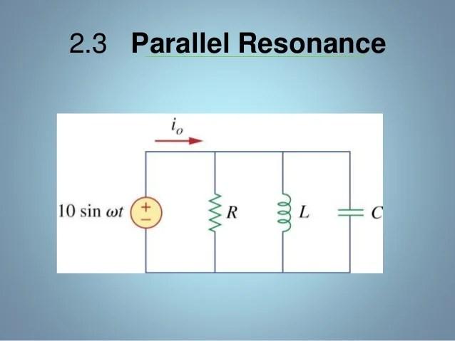 Parallel Circuits Resistive