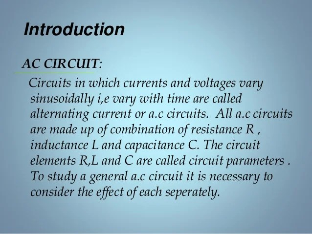 Project Will Only Discuss Purely Parallel Or Purely Series Circuits