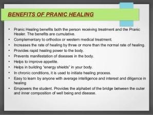 Benefits of Pranic Healing