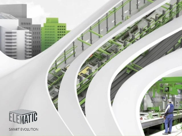 Precast implementation by Elematic Finland