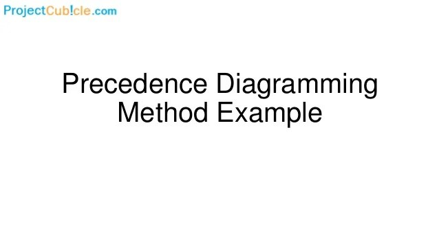 precedence diagram method project management free circuit drawing software diagramming example 1 638 jpg cb 1522329219