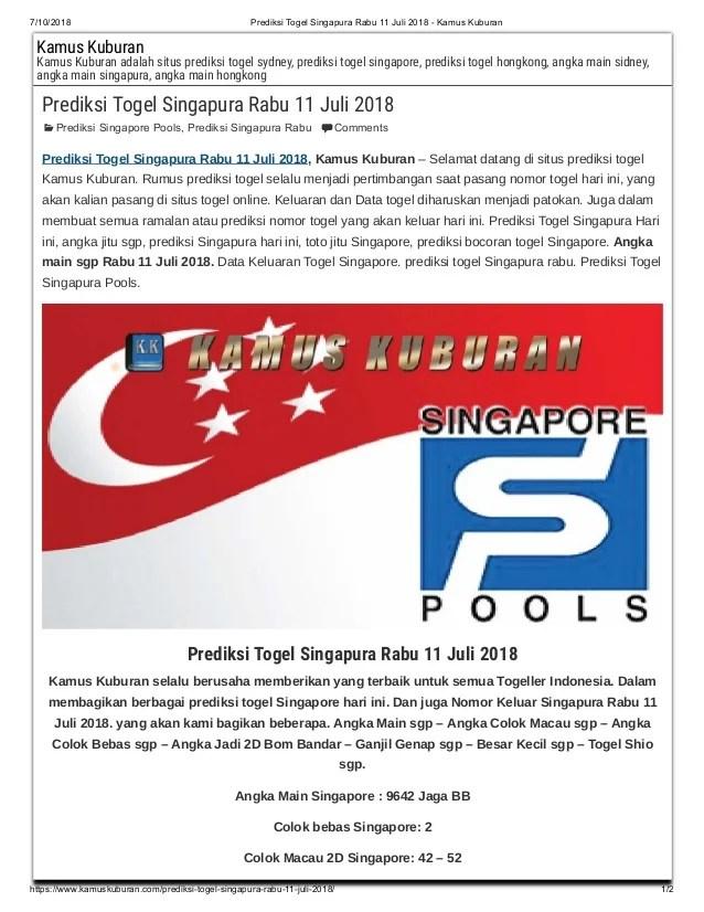 Prediksi Angka Jitu Singapura : prediksi, angka, singapura, Prediksi, Togel, Singapura, Kamus, Kuburan