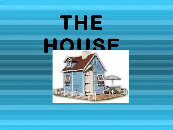 Partes De La Casa En Ingls