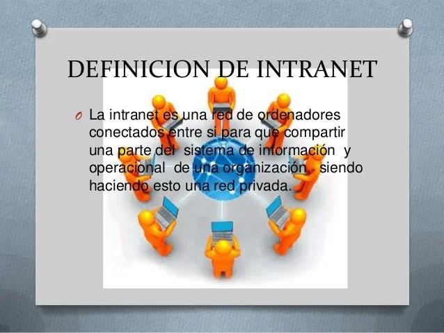 definicion de intranet