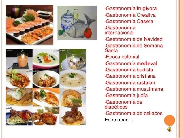 Presentacion power point gastronomia