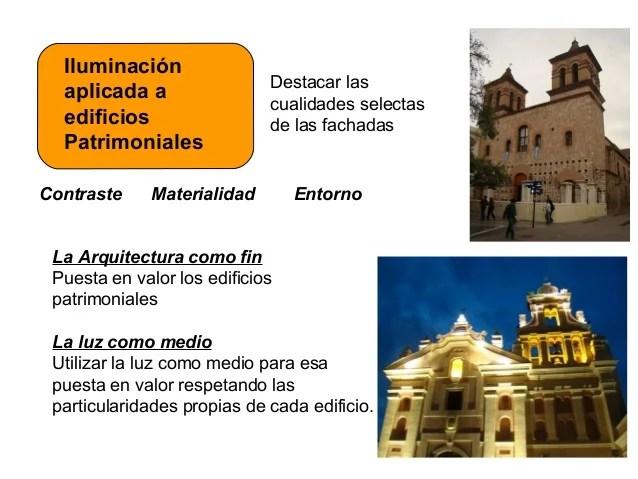 ILUMINACIN DE FACHADAS EN EDIFICIOS PATRIMONIALES