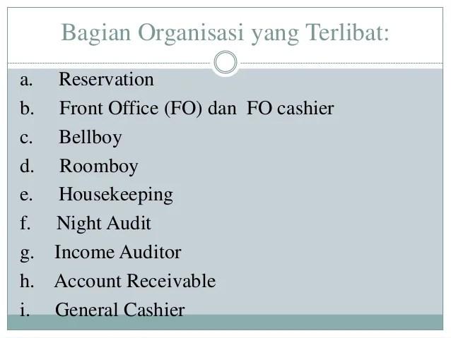 pendapatan penerimaan kas dalam usaha hotel