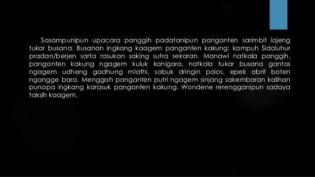 Teks Eksposisi Bahasa Jawa
