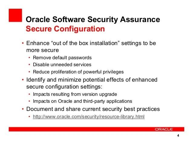 Security Database Presentation