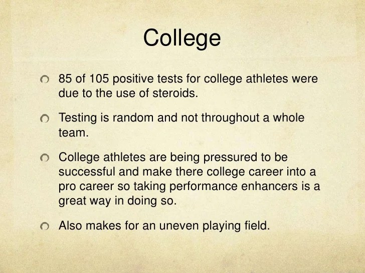 The use of steroids in sports essay Term paper Example  May 2019  2065 words