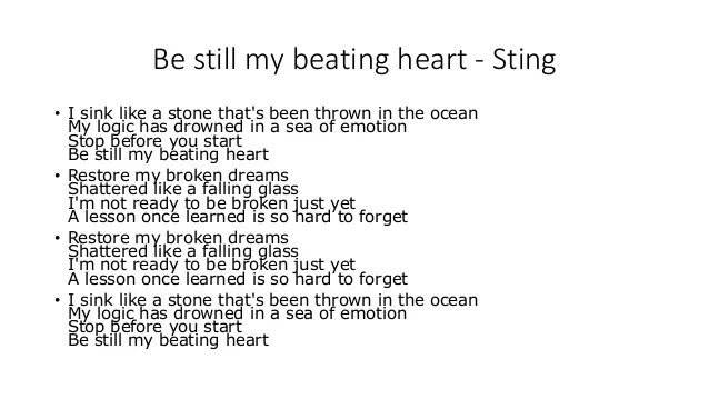 Operation Be still my beating heart