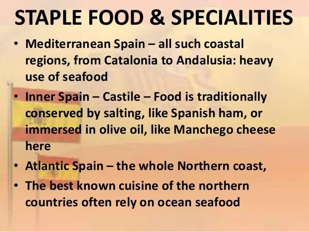 Historical Spanish Dishes