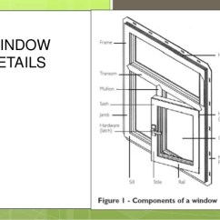 Door Frame Parts Diagram Dometic Ct Thermostat Wiring Window Detail