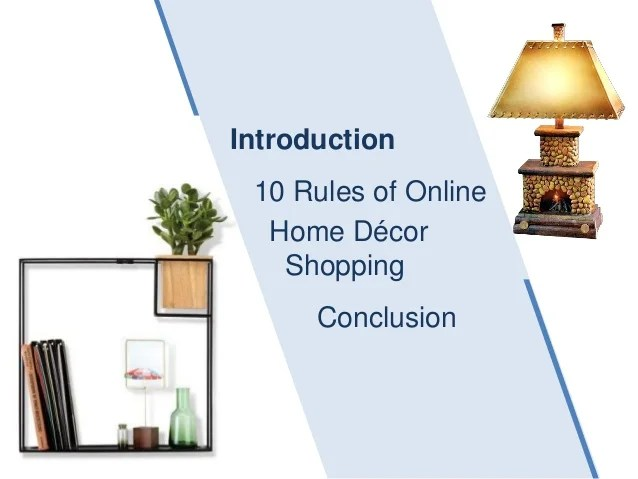 Online Shopping Sites Home Decor