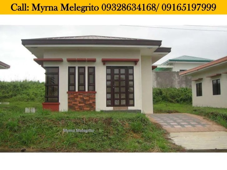 House And Lot Bungalow Single Detached Cavite Flood Free