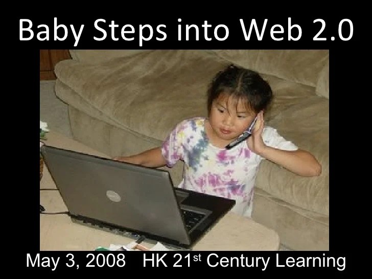 baby steps into web