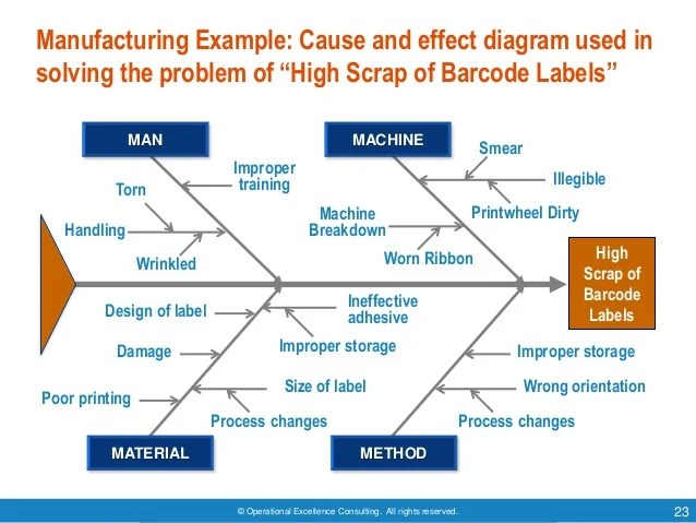 5 whys and the fishbone diagram brain for kids root cause analysis by operational excellence consulting