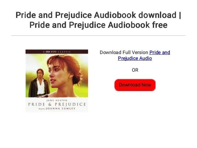 Pride and Prejudice Audiobook download | Pride and Prejudice Audioboo…