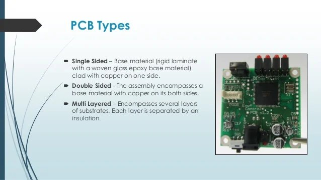 Printed Circuit Board Pcb Of Any Materials Types And Manufacture