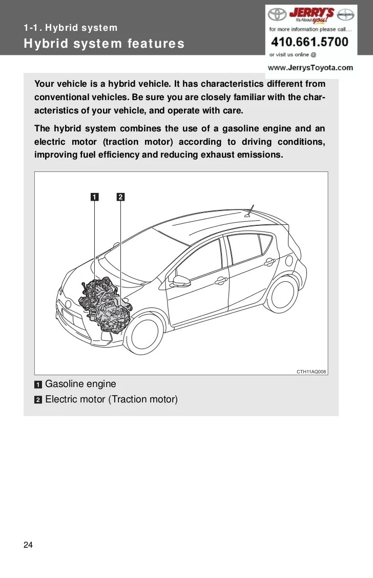 medium resolution of hybrid systemhybrid system features your vehicle is a hybrid vehicle