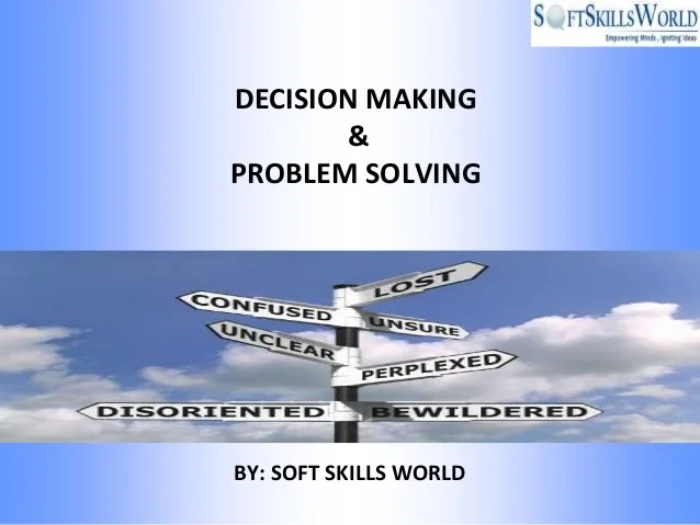 Problem Solving Strategies In Business Choose For