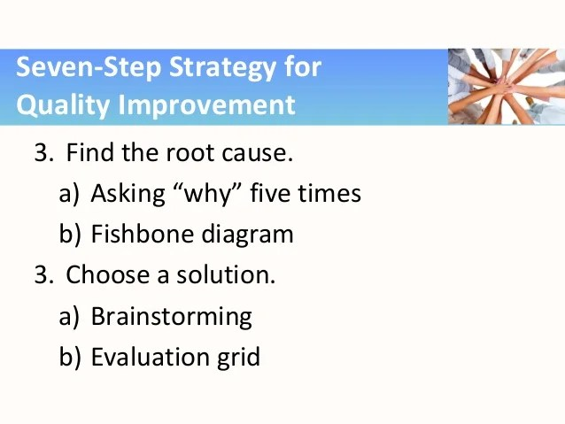 Quality improvement also nc nets employability skills problem solving rh slideshare