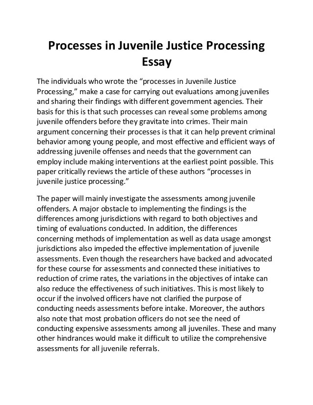 prevention juvenile delinquency essay Essays on juvenile delinquency  scholarship essay on juvenile delinquency  delinquency and research and papers discuss about juvenile crime the prevention.