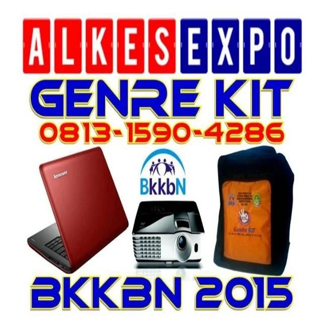 GenRe Kit BKKBN 2015 - ALKES EXPO JAKARTA
