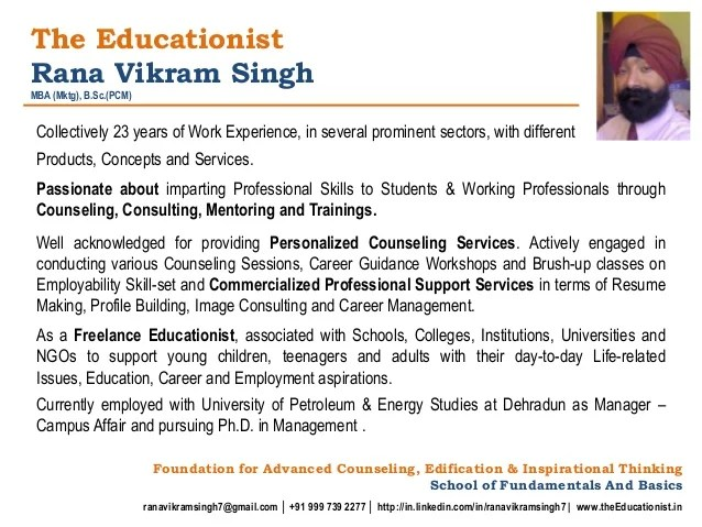 resume making professional