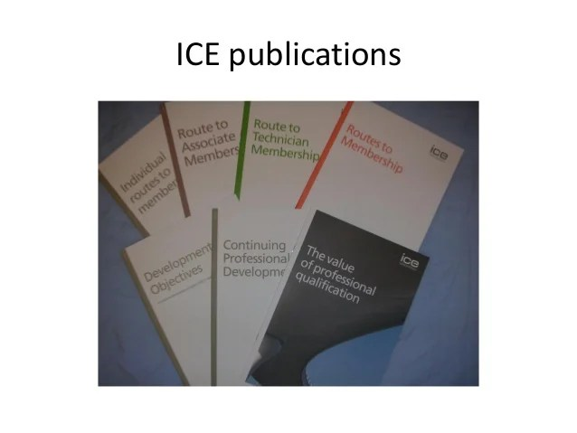 ice publications also professional review rh slideshare