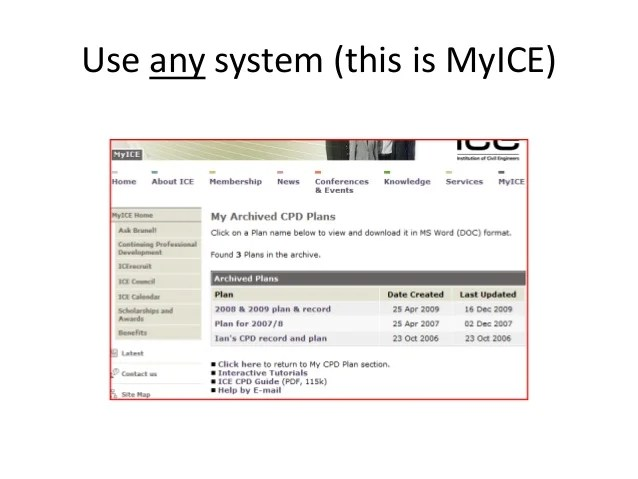 Use any system this is myice also ice professional review rh slideshare