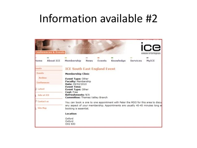 Information available also ice professional review rh slideshare
