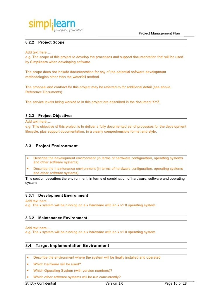 Development Project Proposal Template Free Document Resume Samples