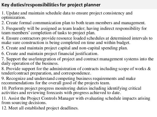 planner scheduler job description - 28 images - production planner ...